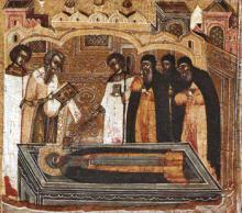 16 июля - день перенесения мощей святителя Филиппа, митрополита Московского